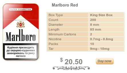 Black bat cigarettes Marlboro for sale